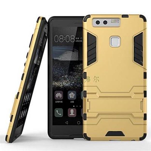 (002-159)เคสมือถือ Case Huawei P9 เคสพลาสติกสไตล์ IronMan