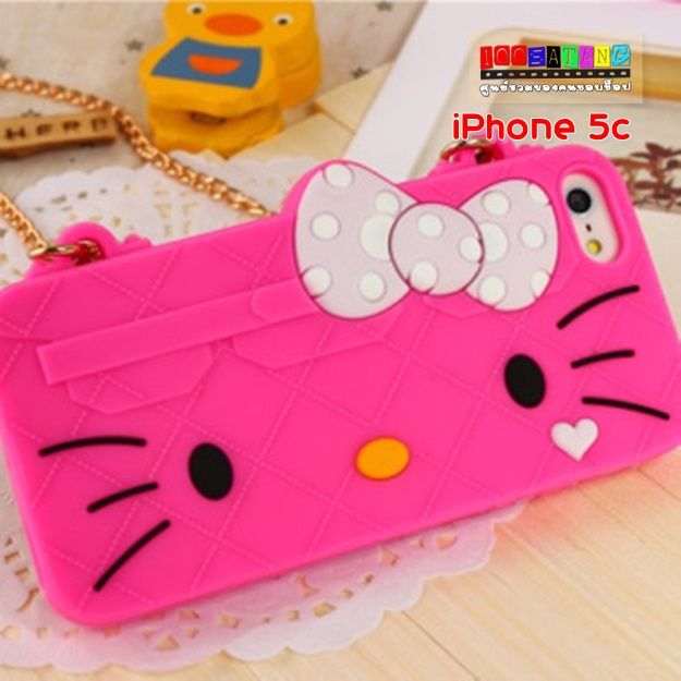 (พร้อมส่ง)เคสมือถือไอโฟน5c Case iPhone เคสนิ่มแนวกระเป๋า Melody