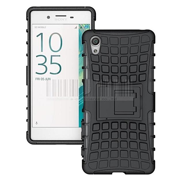 (002-141)เคสมือถือโซนี่ Case Sony Xperia X เคสนิ่มเกราะพลาสติกขอบสีสไตล์กันกระแทก